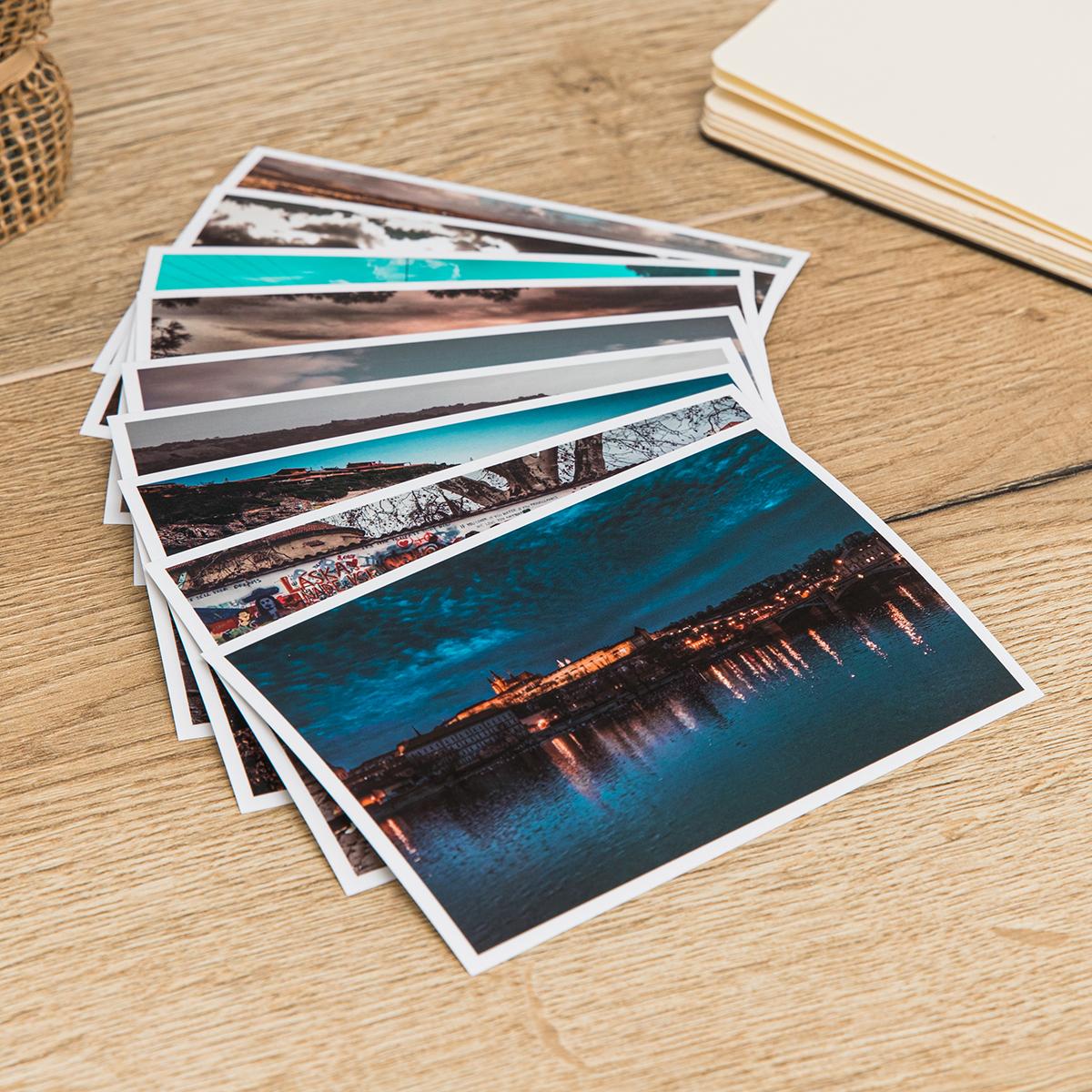 foto 9x13 su tavolo